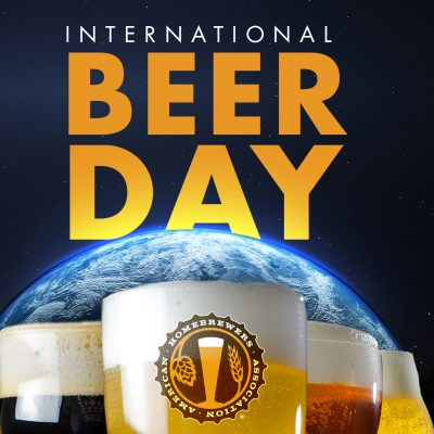international beer day square