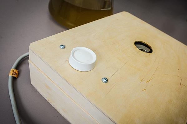 Home Made Stir Plate 2