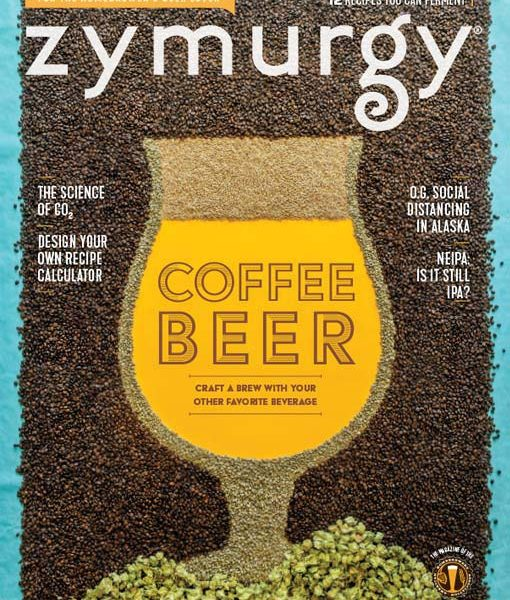july/august 2020 zymurgy cover
