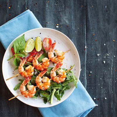 shrimp skewers recipe
